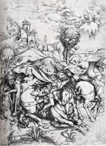 "Albrecht Durer's ""The Conversion of St. Paul"""