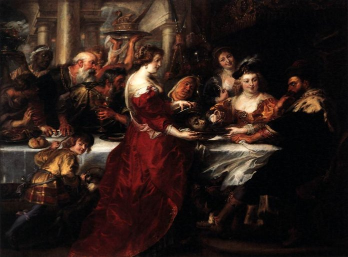 "Peter Paul Rubens' ""The Feast of Herod"""