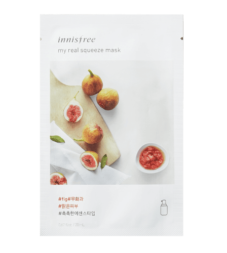 Innisfree My Real Squeeze Sheet Mask Fig