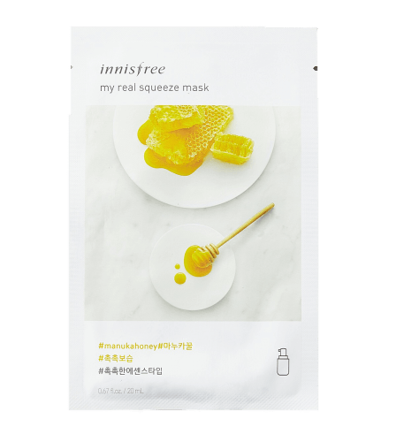 Innisfree My Real Squeeze Sheet Mask Manuka Honey