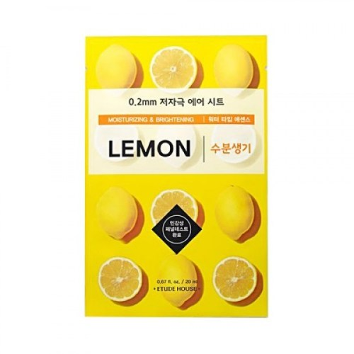 Etude House Therapy Air Mask Lemon