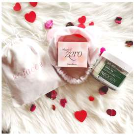 Valentine's Day korean beauty gift pack under $100 with banila co and neogen bio peel gauze green tea