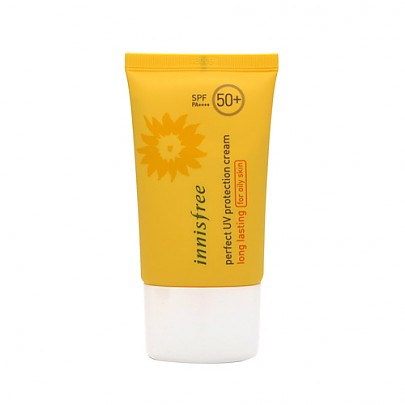 Innisfree Perfect UV Protection Cream SPF50+ for oily skin