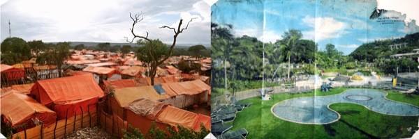 Mise en confrontation entre les espoirs d'une population et sa réalité, Sammy Baloji, Kolwezi