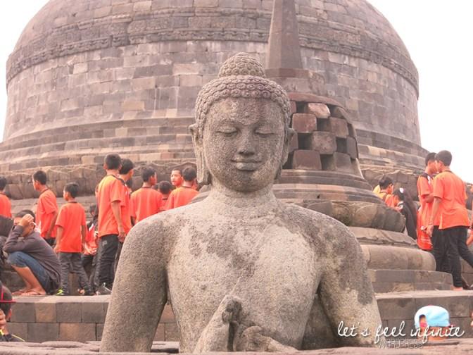 Borobudur - Buddha 2
