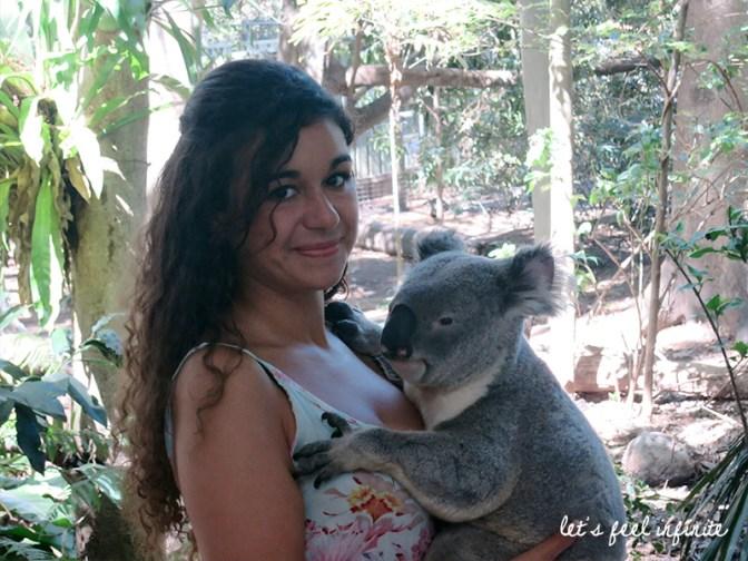 Lone Pine - Me with a koala