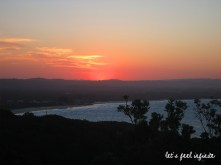 Byron Bay - Sunset view from the lighthouse