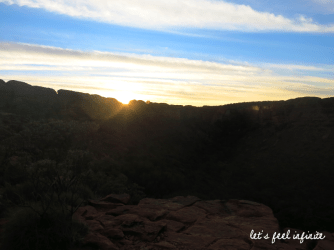 Red Center - King's Canyon 1 - Sunrise