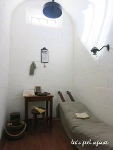 Cellule de prisonnier à Port Arthur, Tasmanie