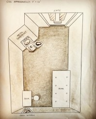 Schematics of Solitary cell by Hyung-Rae