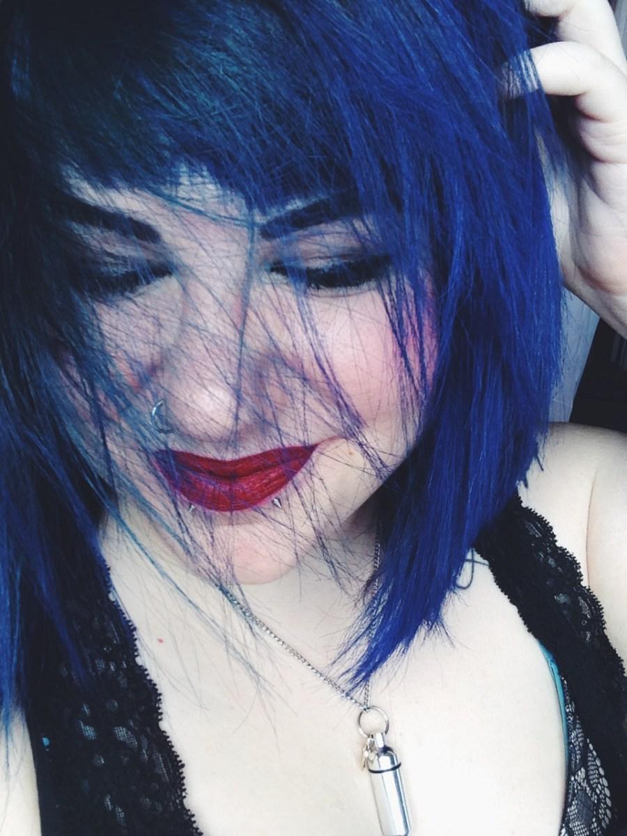 Im Blue Color Oops Prism Lites Amp Blue Hair Dye Review