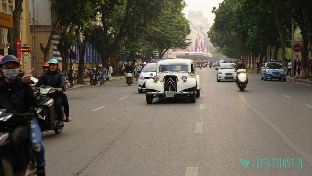 Citroen bl w Hanoi