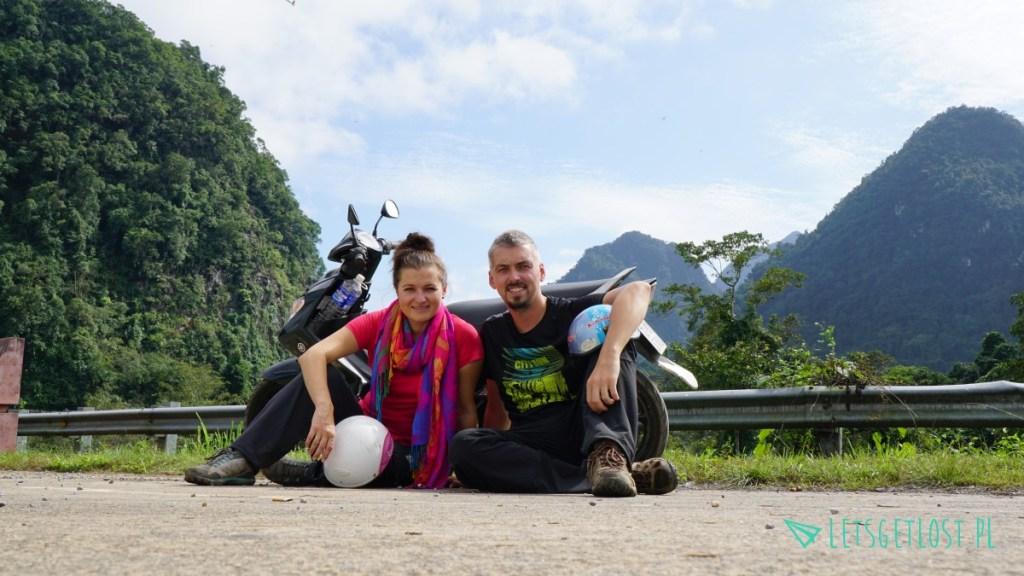 phong nha zwiedziliśmy na motocyklu
