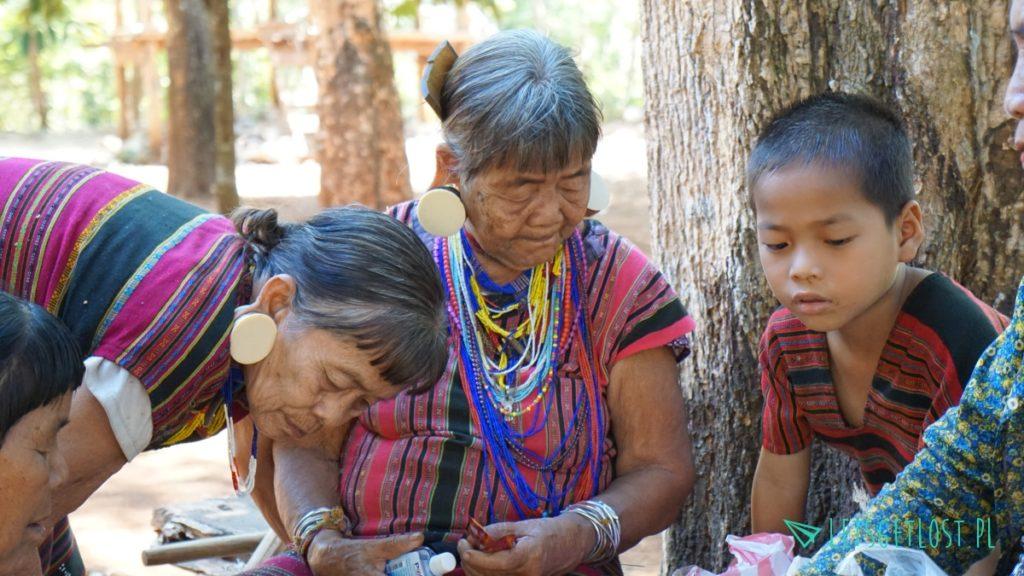Plemiona w Laosie