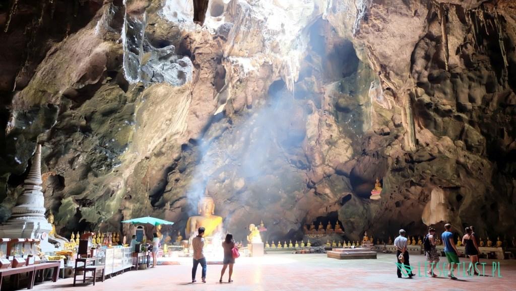 Phetchaburi świątynia w jaskini