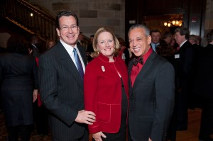 Governor, Cathy and Mayor at Big Red