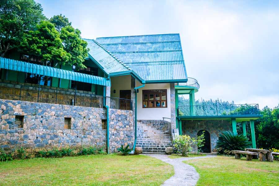 Dumbanagala Chalet Entrace
