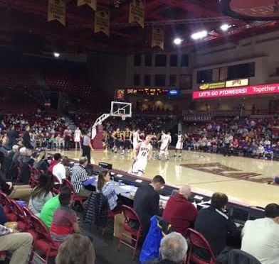 Pios Play South Dakota State Tough in 56-67 loss