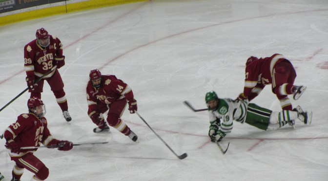 Denver Tops North Dakota in Game for the Ages, 6-4