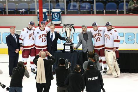 Western Michigan v  North Dakota NCHC Frozen Faceoff Conference Championship