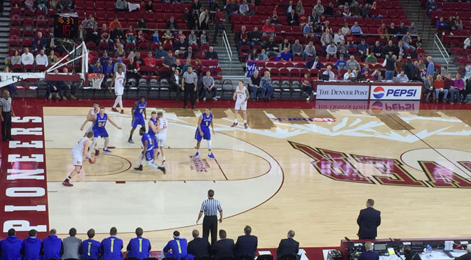 Late Comeback Falls Short as South Dakota State Defeats Denver, 81-77