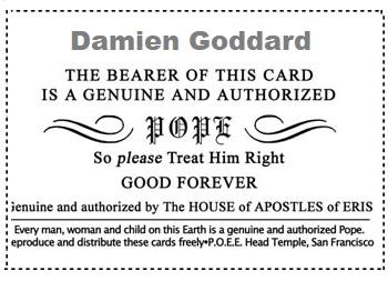 Pope Card