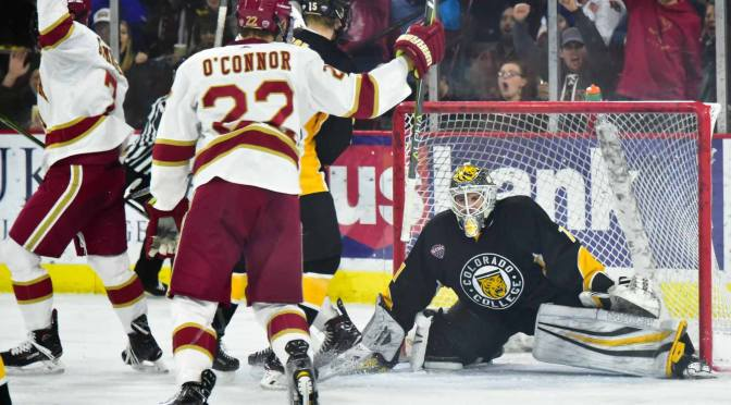 Pioneers speed past spent Tigers, advance to fifth-consecutive Frozen Faceoff