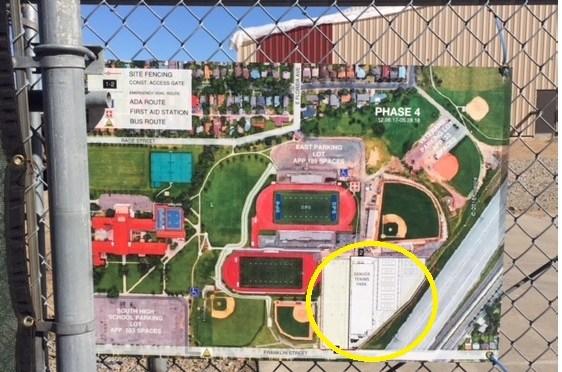 Denver Tennis Park rises from the ground