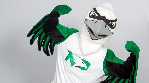 North Dakota launches new Fighting Hawk mascot