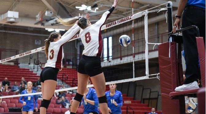 Denver Volleyball Sweeps the Dakotas