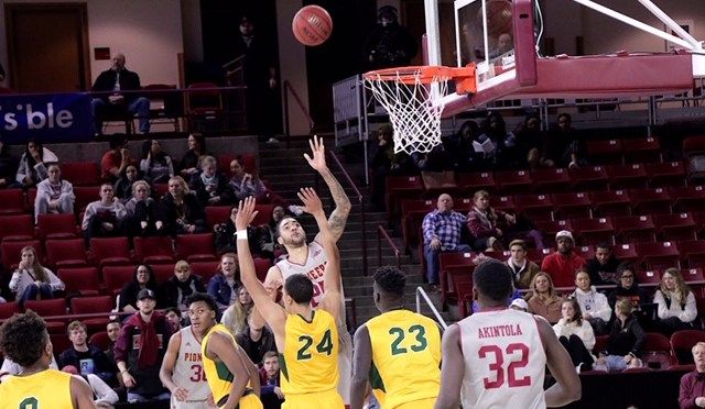 Denver Rides Second Half Explosion to 80-65 Win Over Bison