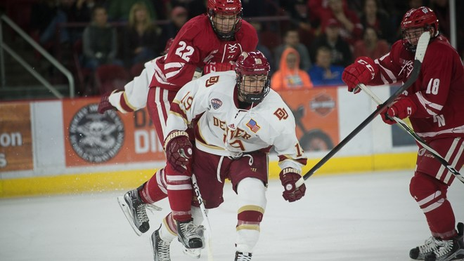 Three Goal Barrage Propels Denver to 6-3 Victory over Badgers