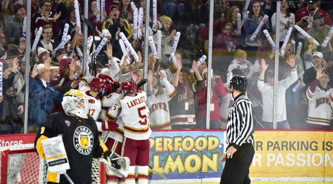 Denver rides third period rally to tie Colorado College & earn extra NCHC point