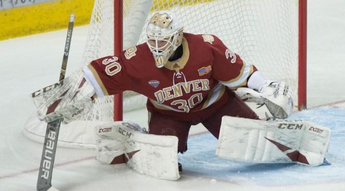 Larsson shines in 2-1 brawl over North Dakota