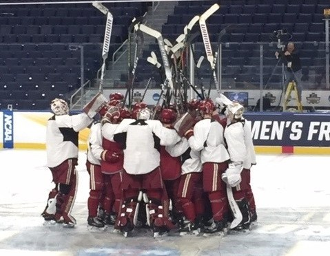 Playing in third Frozen Four in four years, Pioneers on brink of becoming greatest of all time