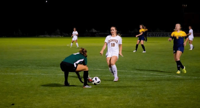 Adler's Goal Lifts Pioneers to 1-0 win over Kent State Golden Flashes