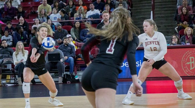 DU Battles CSU to Fifth Set before falling, 3-2, at Magness Arena Tune-up