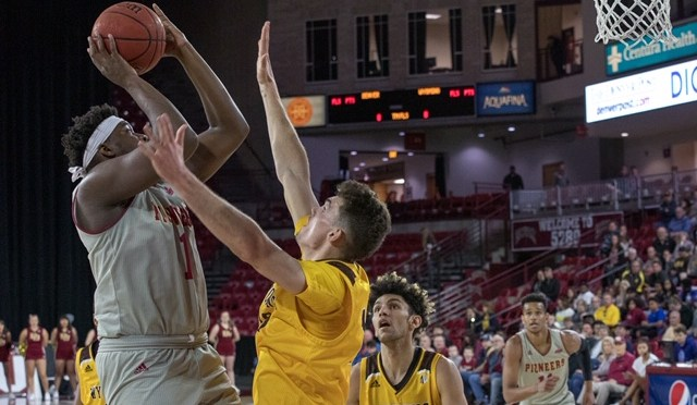 Ice Cold Shooting Sinks Denver in Wyoming OT loss, 72-66