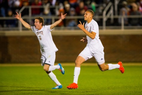 NCAA Soccer Elite 8: Denver at Clemson DEC 2