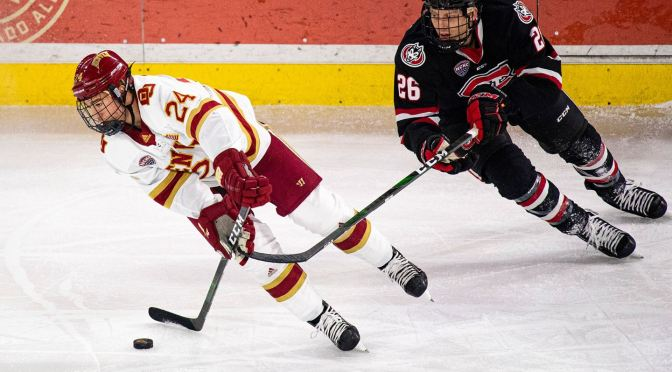Denver Pioneers Blow-Out St. Cloud St. Huskies in Series Opener, 6-3