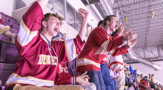 Pucks, Pans, and Passion: A Trip into the Heart of Darkness with Hockey Student Section Leaders