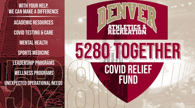 DU Reaches Out for Community Support with 5280 Together COVID Relief Fund