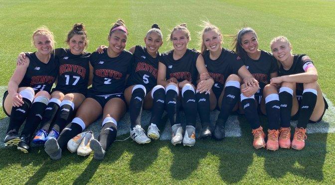 North Carolina Ends Denver Women's Soccer Season, 2-0 in NCAA Second Round