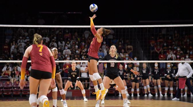Puck Swami: DU Goes Hollywood, Stuns USC in Volleyball