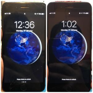 iPhone 6SPlus 爆玻璃維修