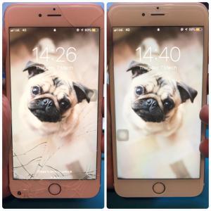 觀塘iPhone6S Plus換玻璃