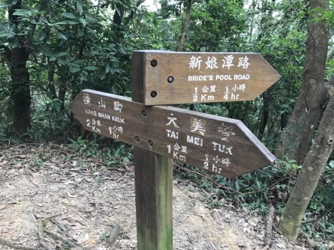 大美督>汀角路>八仙嶺自然教育徑>新娘潭>照鏡潭