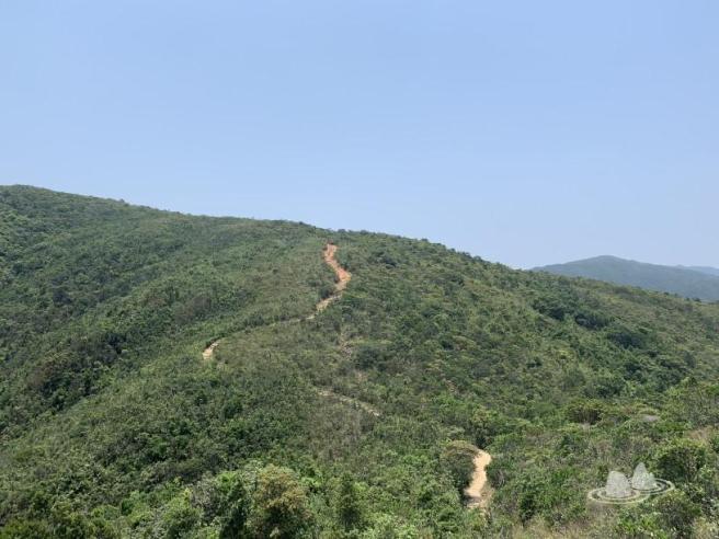 西灣亭>麥理浩徑第2段>西灣山>獨孤山>麥理浩徑第1段>萬宜水庫東壩>萬宜地質步道