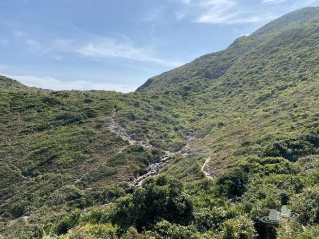萬宜水庫東壩>萬宜地質步道>花山(破邊洲)>麥理浩徑第1段>標尖角觀景台>萬宜水庫東壩
