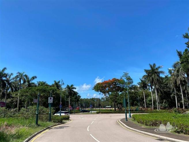 港鐵迪士尼站>竹篙灣咀>扒頭鼓>青洲仔半島>港鐵迪士尼站